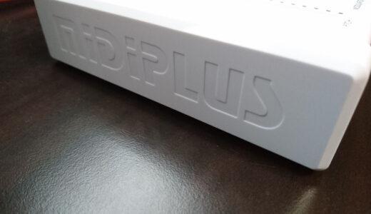 【MidiPlus】のMIDIキーボードコントローラー X3 mini を使ってみた