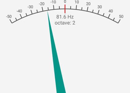 チューナーアプリは「Pitched Tuner」がおすすめ!